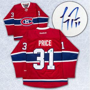 Carey Price Montreal Canadiens Autographed Reebok Premier Hockey Jersey