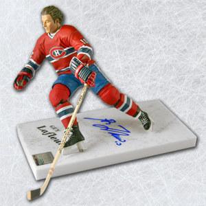 Guy LaFleur Montreal Canadiens Autographed McFarlane Sports Picks Figure
