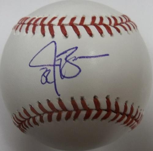 Photo of Jay Bruce Autographed Baseball