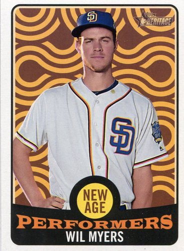 Photo of 2017 Topps Heritage New Age Performers #NAP25 Wil Myers
