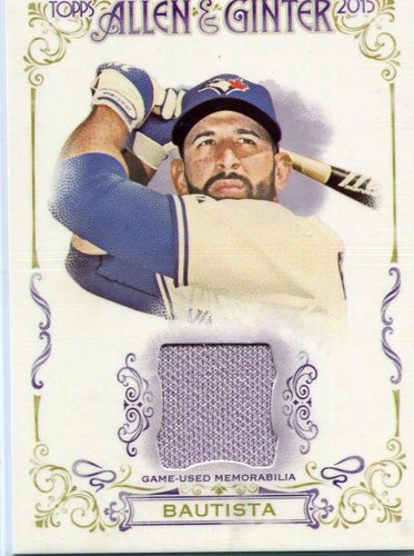 Photo of 2015 Topps Allen and Ginter Relics #FSRAJBA Jose Bautista