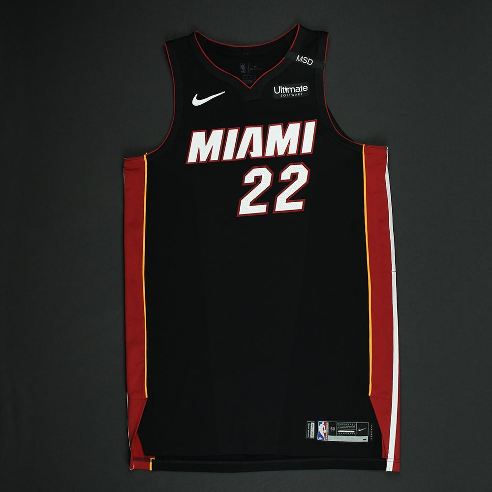 Luke Babbitt - Miami Heat - 2018 NBA Playoffs Game-Worn Jersey