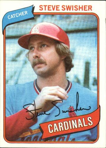 Photo of 1980 Topps #163 Steve Swisher
