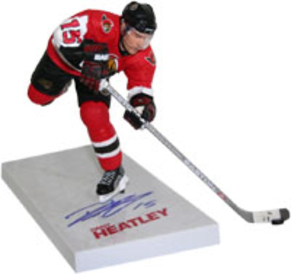 Dany Heatley Autographed Ottawa Senators McFarlane Figurine (Anaheim Ducks)