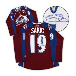 Joe Sakic Colorado Avalanche Autographed Reebok Premier Jersey