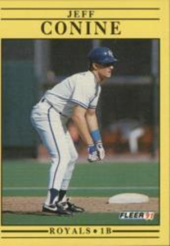 Photo of 1991 Fleer #553 Jeff Conine RC