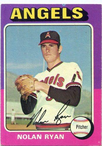 Photo of 1975 Topps #500 Nolan Ryan Hall of Famer