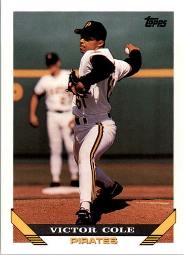 Photo of 1993 Topps #453 Victor Cole