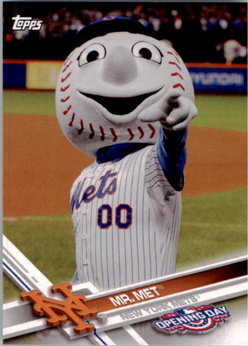 Photo of 2017 Topps Opening Day Mascots #M5 Mr. Met