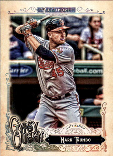 Photo of 2017 Topps Gypsy Queen #62 Mark Trumbo
