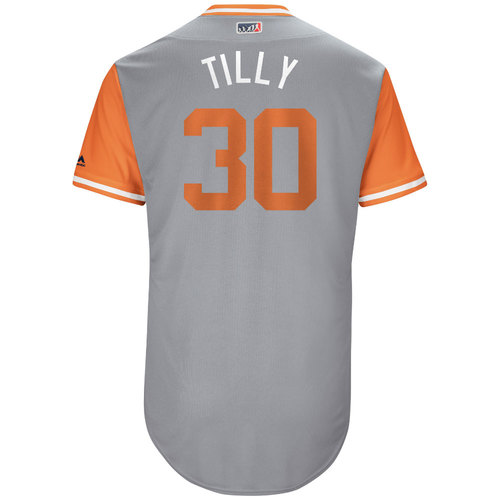 """Photo of Chris """"Tilly"""" Tillman Baltimore Orioles Game-Used Players Weekend Jersey"""