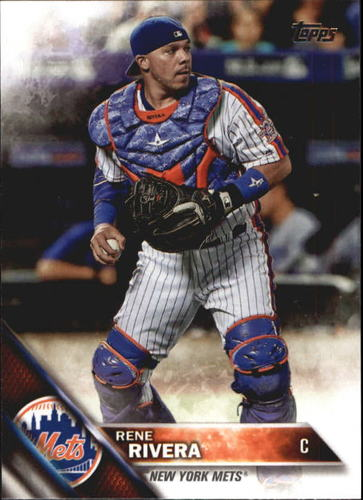 Photo of 2016 Topps Update #US107 Rene Rivera Cubs post-season