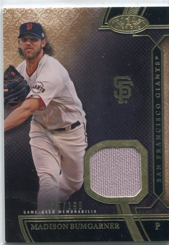 Photo of 2015 Topps Tier One Relics  Madison Bumgarner 035/199