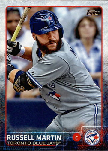 Photo of 2015 Topps #436 Russell Martin