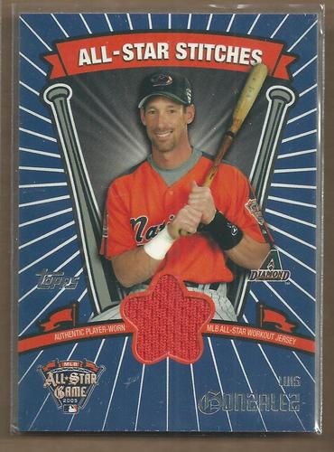 Photo of 2005 Topps Update All-Star Stitches #LG Luis Gonzalez C