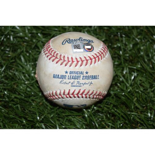 Photo of Game-Used Baseball: Manny Machado Single off Drew Smyly
