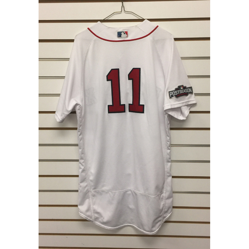 Photo of Clay Buchholz Game-Used ALDS Game 3 Home Jersey