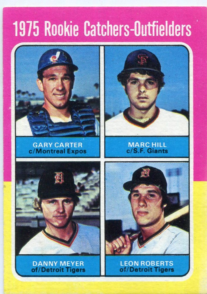 1975 Topps #620 Rookie Catchers Gary Carter Rookie Card -- Hall of Famer