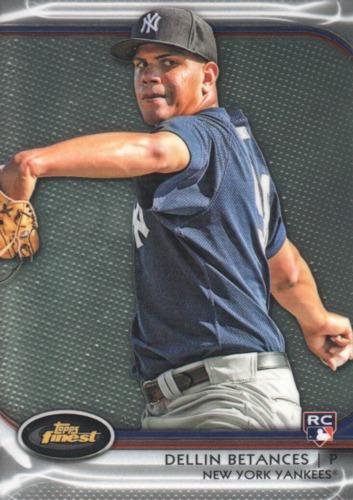 Photo of 2012 Finest #71 Dellin Betances RC