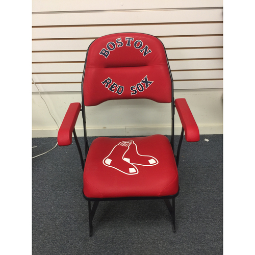 Photo of David Ortiz Game-Used April 28, 2013 Clubhouse Chair