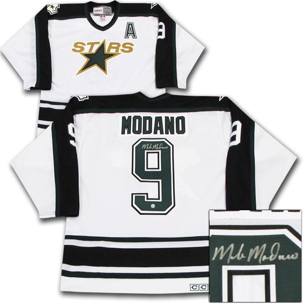 Mike Modano Autographed Dallas Stars Jersey