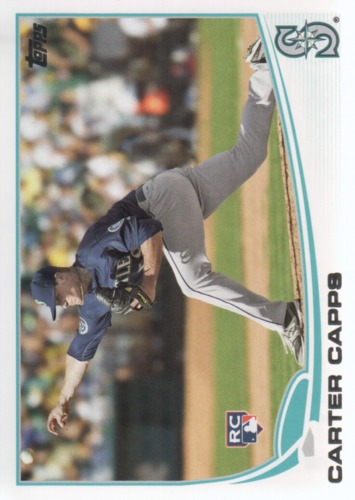 Photo of 2013 Topps #157 Carter Capps RC