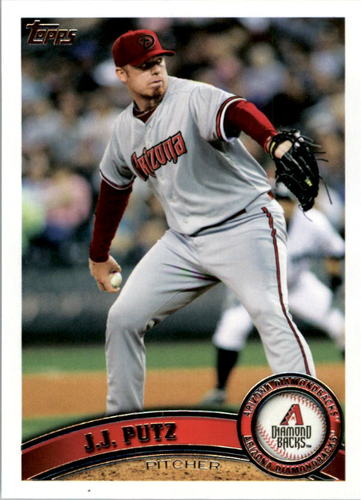 Photo of 2011 Topps #601 J.J. Putz