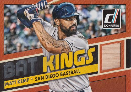 Photo of 2015 Donruss Bat Kings #20 Matt Kemp