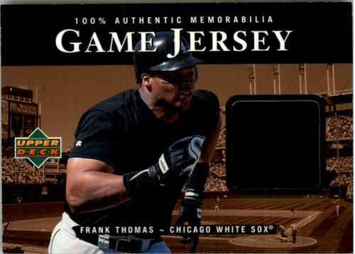 Photo of 2000 Upper Deck Game Jersey #FT Frank Thomas HR2