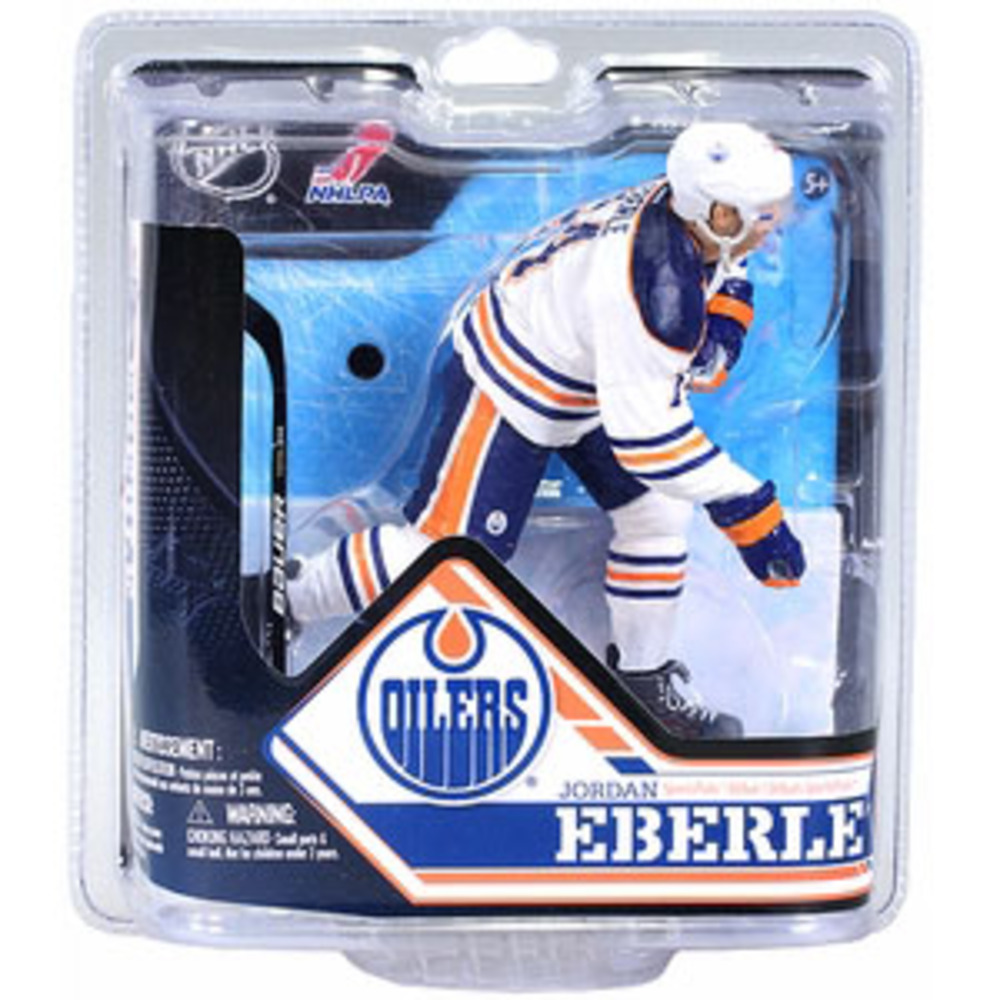 Jordan Eberle (Edmonton Oilers) Chase Collector Level McFarlane Figurine