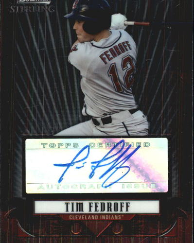 Photo of 2008 Bowman Sterling Prospects #TF Tim Fedroff AU