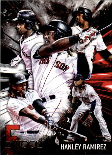 Photo of 2017 Topps Five Tool #5T34 Hanley Ramirez