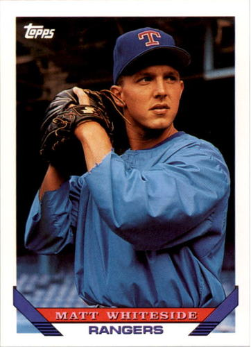 Photo of 1993 Topps #468 Matt Whiteside RC