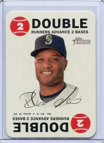 Photo of 2017 Topps Heritage Topps Game #24 Robinson Cano