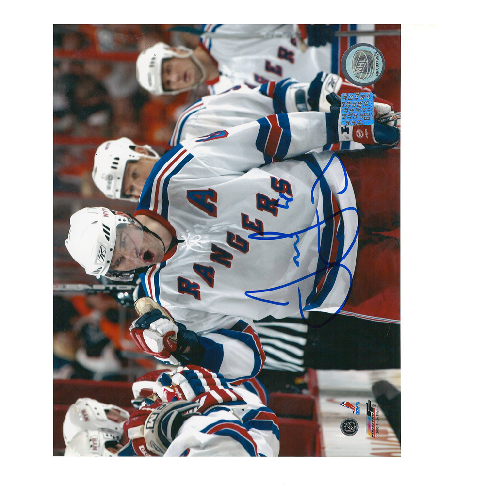 JAROMIR JAGR Signed New York Rangers 8 X 10 Photo - 70332