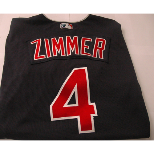 Photo of Bradley Zimmer Game Worn Jersey - 1st Career Grand Slam