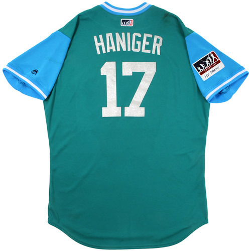 "Photo of Mitch ""Haniger"" Haniger Seattle Mariners Game-Used Players Weekend Jersey"