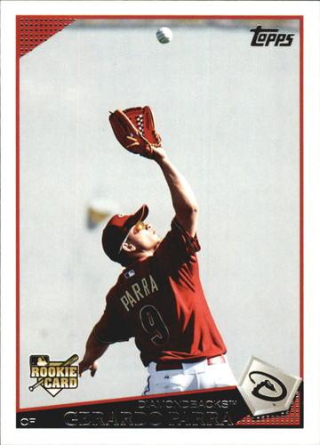 Photo of 2009 Topps Update #UH84 Gerardo Parra Rookie Card -- Rockies post-season