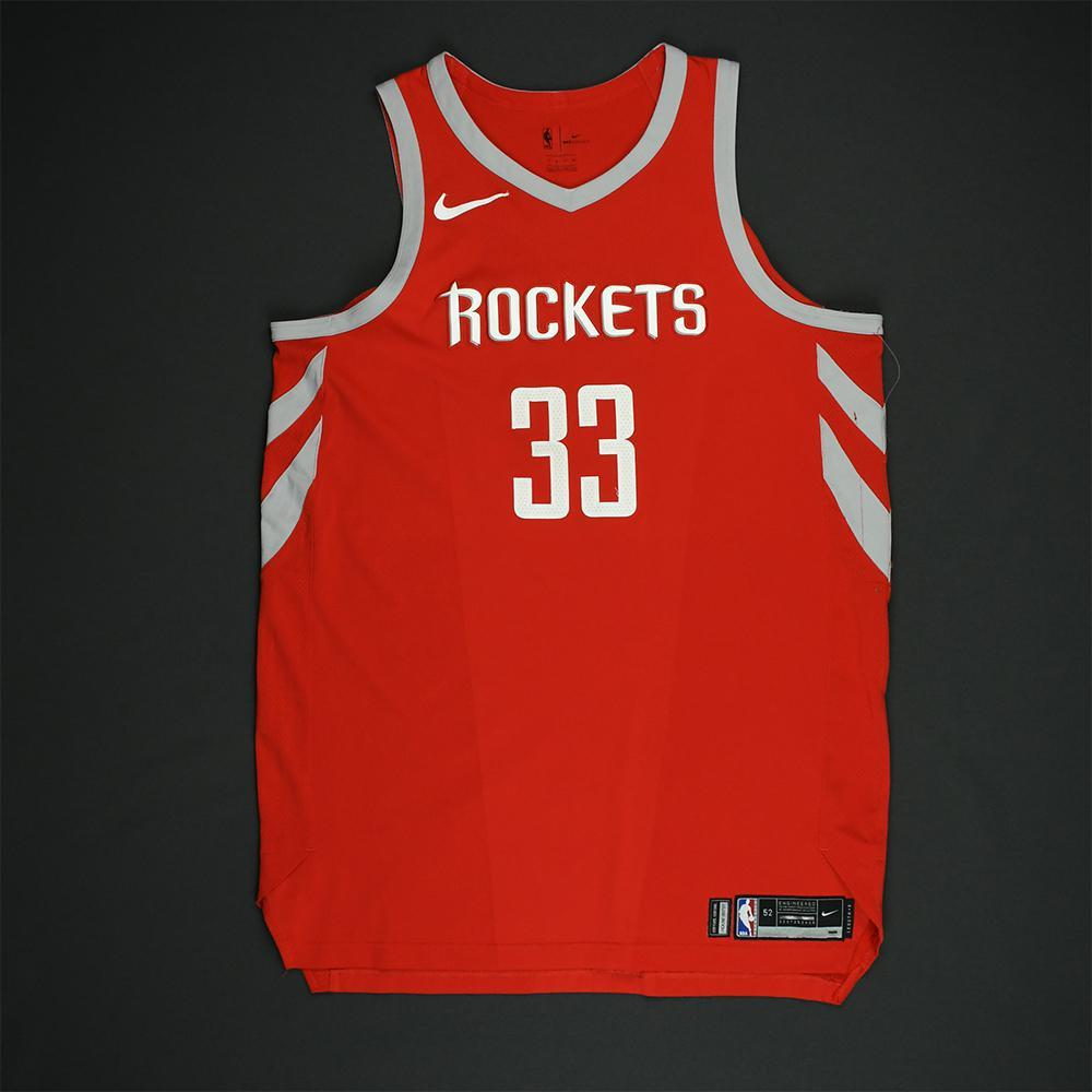 Ryan Anderson - Houston Rockets - NBA Christmas Day '17 Game-Worn Jersey