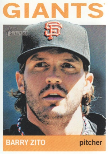 Photo of 2013 Topps Heritage #404 Barry Zito