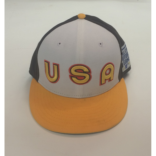 Photo of 2016 All-Star Futures Game Auction - David Dahl Game-Used USA Cap