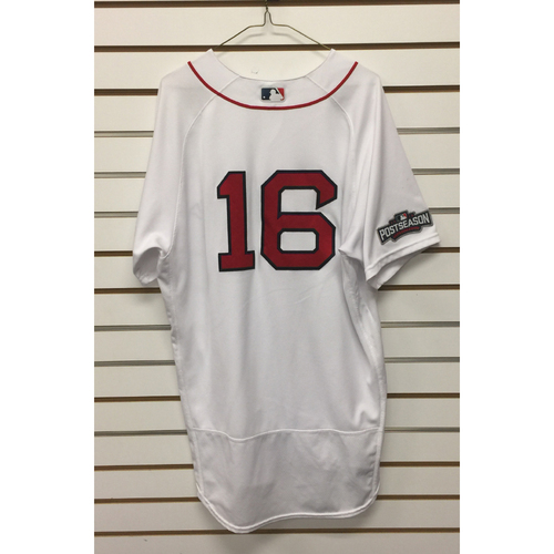 Photo of Devin Marrero Game-Used September 18, 2016 Home Jersey
