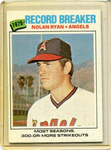 Photo of 1977 Topps #234 Nolan Ryan Record Breaker