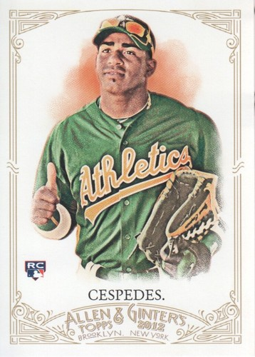 Photo of 2012 Topps Allen and Ginter #79 Yoenis Cespedes RC