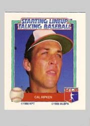 Photo of 1988 Starting Lineup All-Stars #26 Cal Ripken