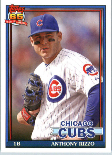 Photo of 2016 Topps Archives #248 Anthony Rizzo Cubs post-season