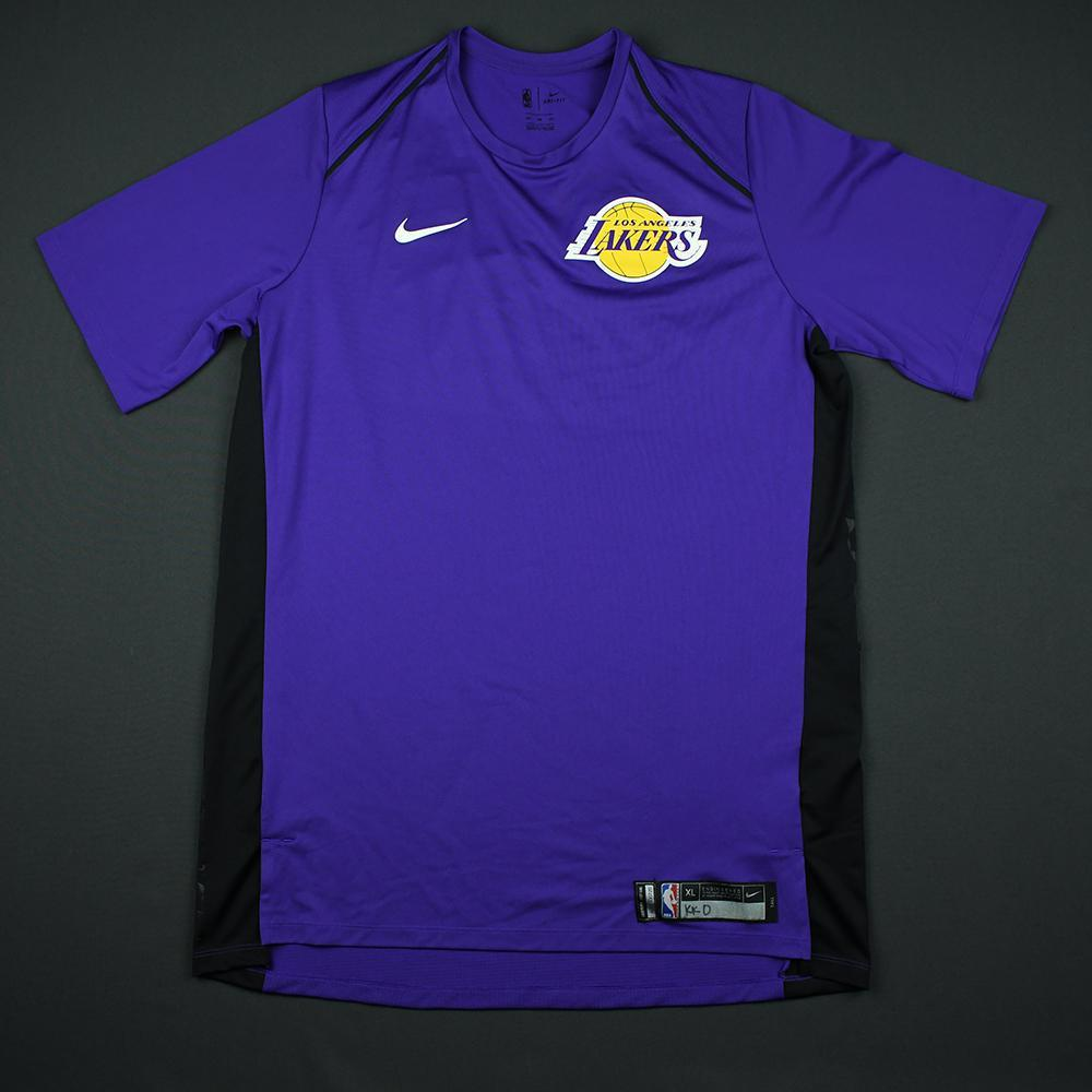 Kyle Kuzma - 2018 Mtn Dew Kickstart Rising Stars - Los Angeles Lakers - Warmup-Worn Shooting Shirt