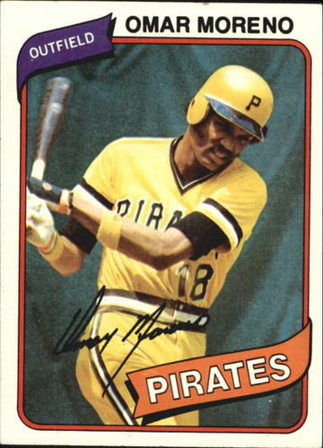 Photo of 1980 Topps #165 Omar Moreno