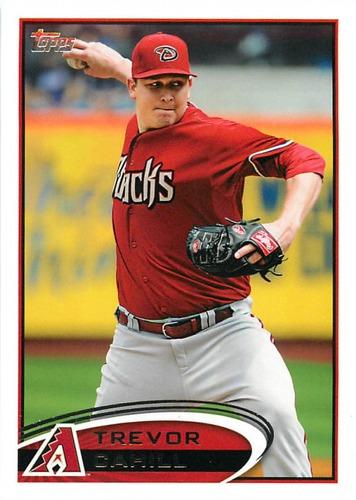 Photo of 2012 Topps Update #US167 Trevor Cahill
