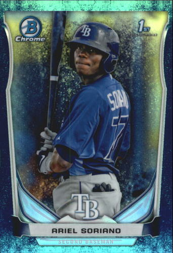 Photo of 2014 Bowman Chrome Prospects Series 2 Bubble Refractors #BCP97 Ariel Soriano
